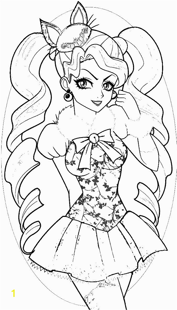 ever after high kitty cheshire coloring pages