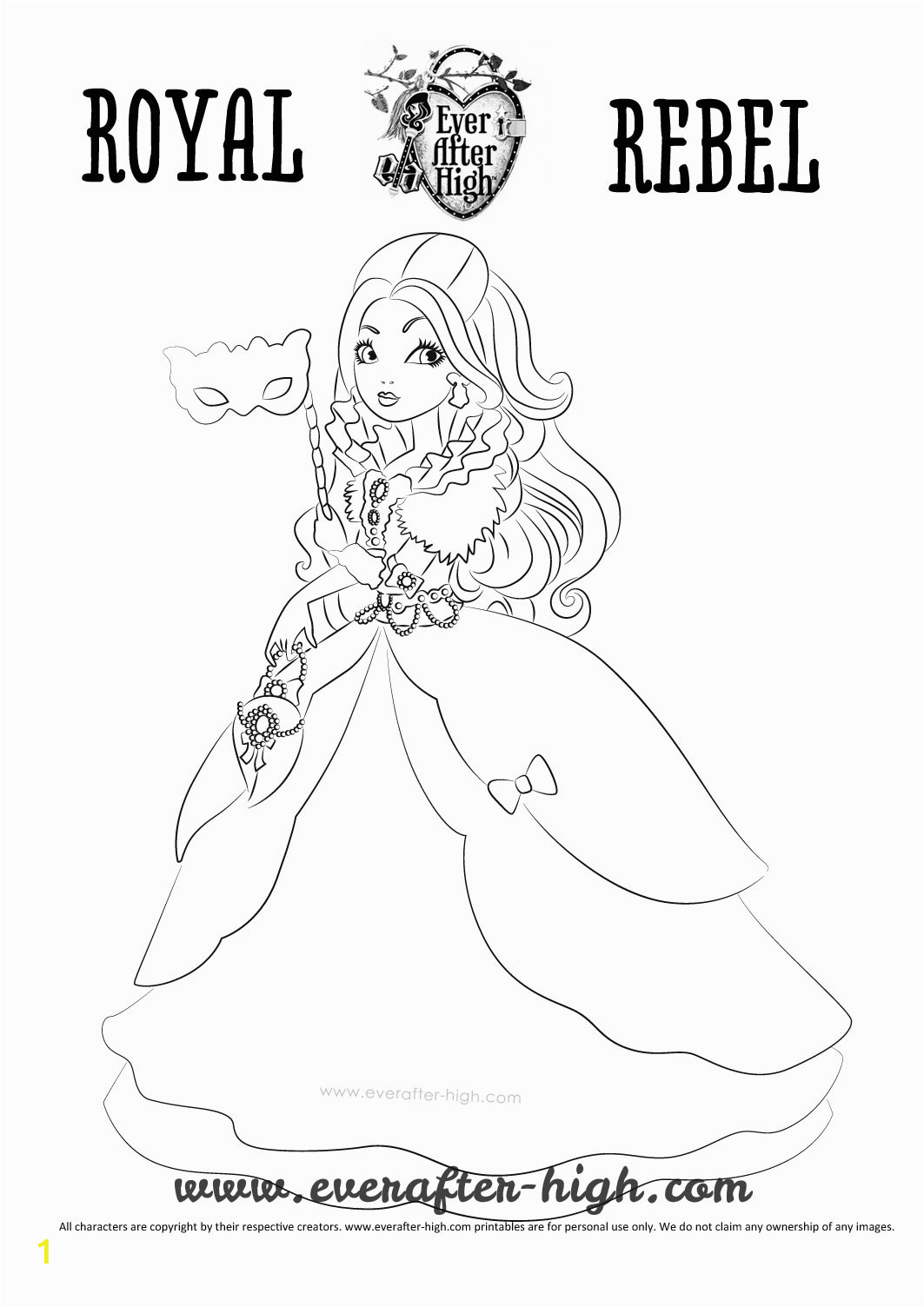 apple white throne ing coloring page
