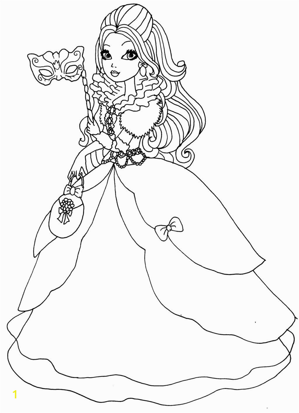 Ever after High Thronecoming Coloring Pages Ever after High Apple White Coloring Pages Apple White