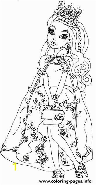 ever after high throne ing raven queen coloring