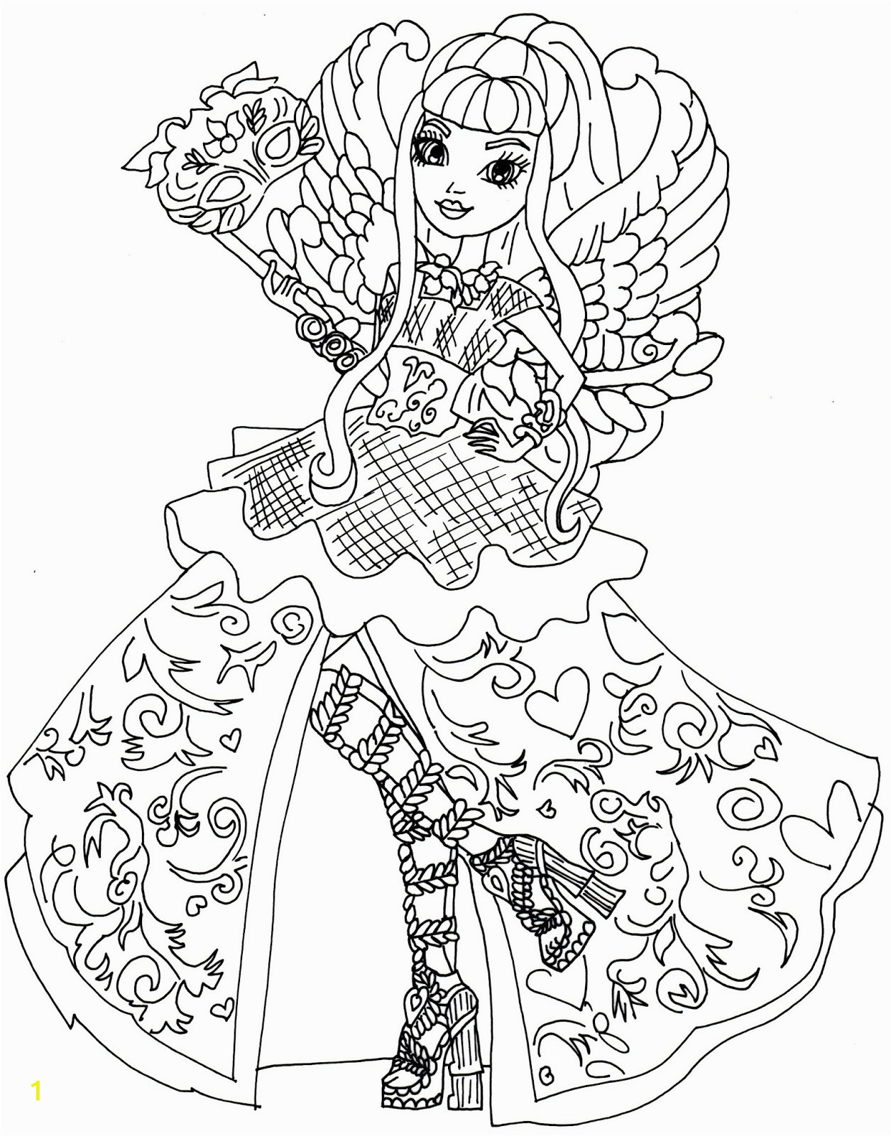 ca cupid throne ing ever after high