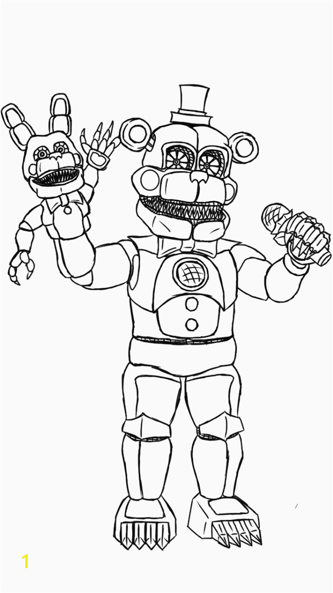 21 inspired picture of five nights at freddys coloring pages