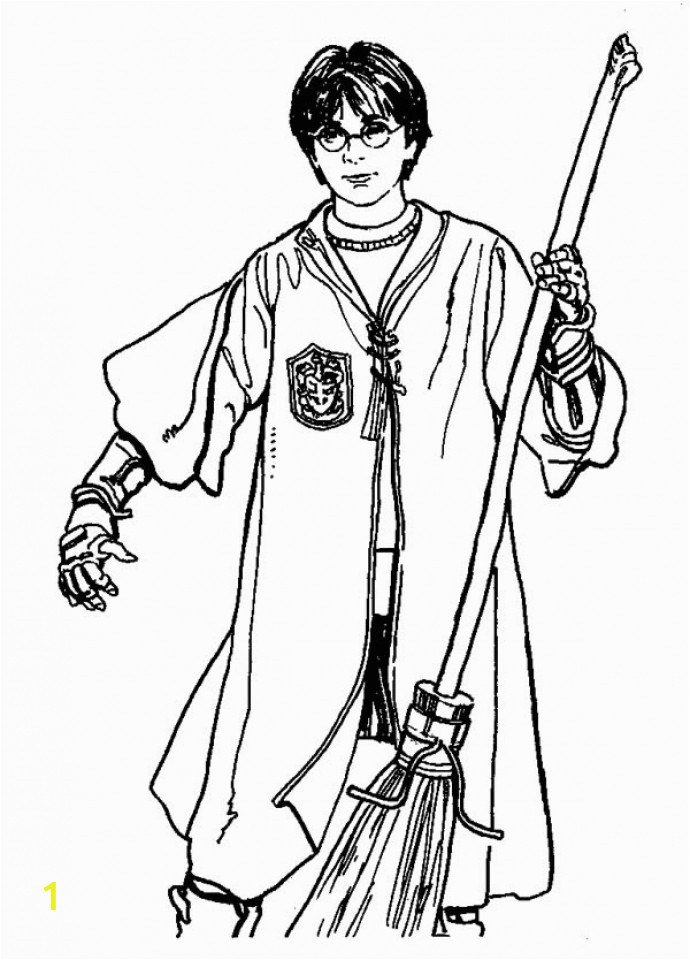 harry potter coloring pages free to print