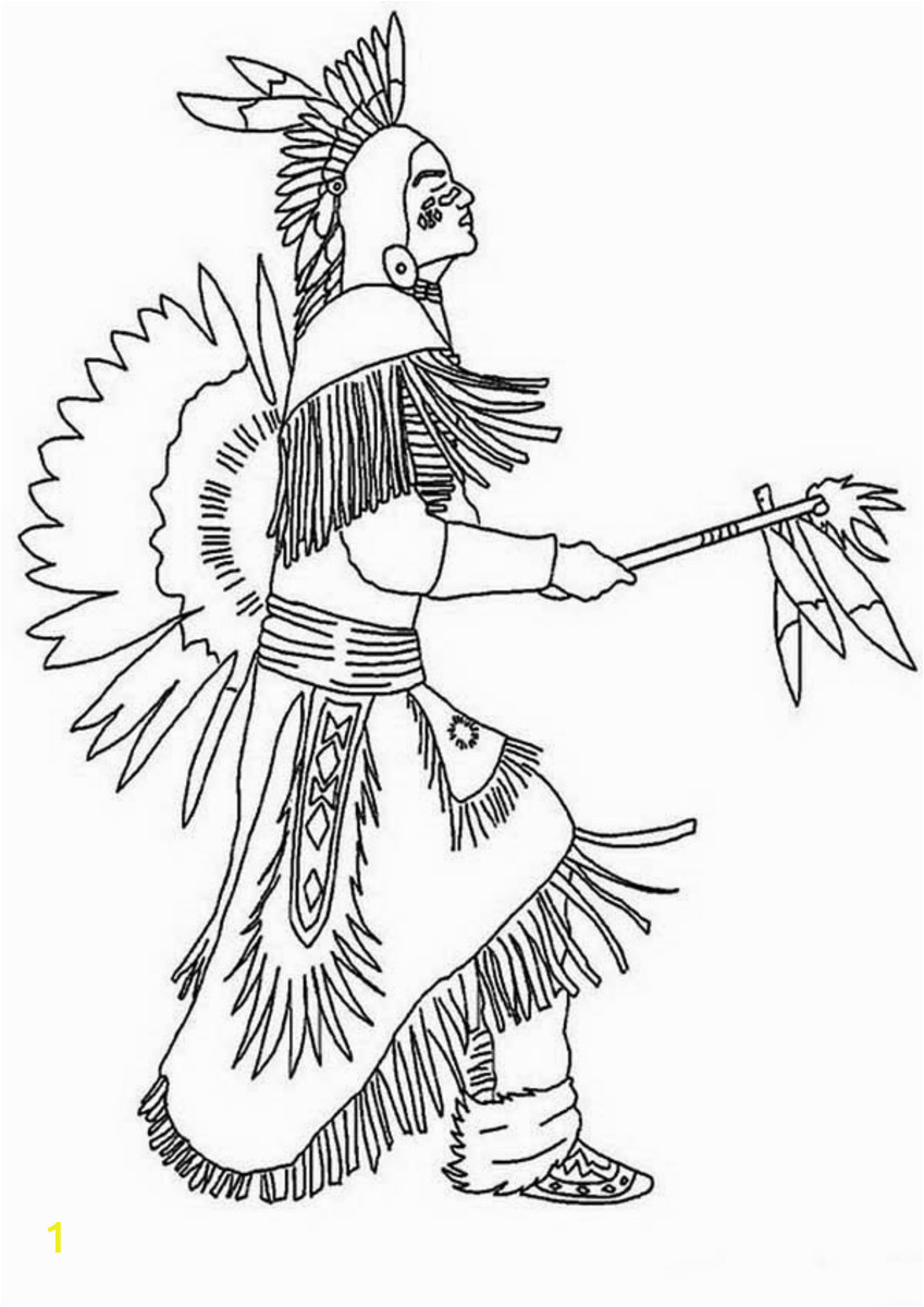 Native American Designs Coloring Books