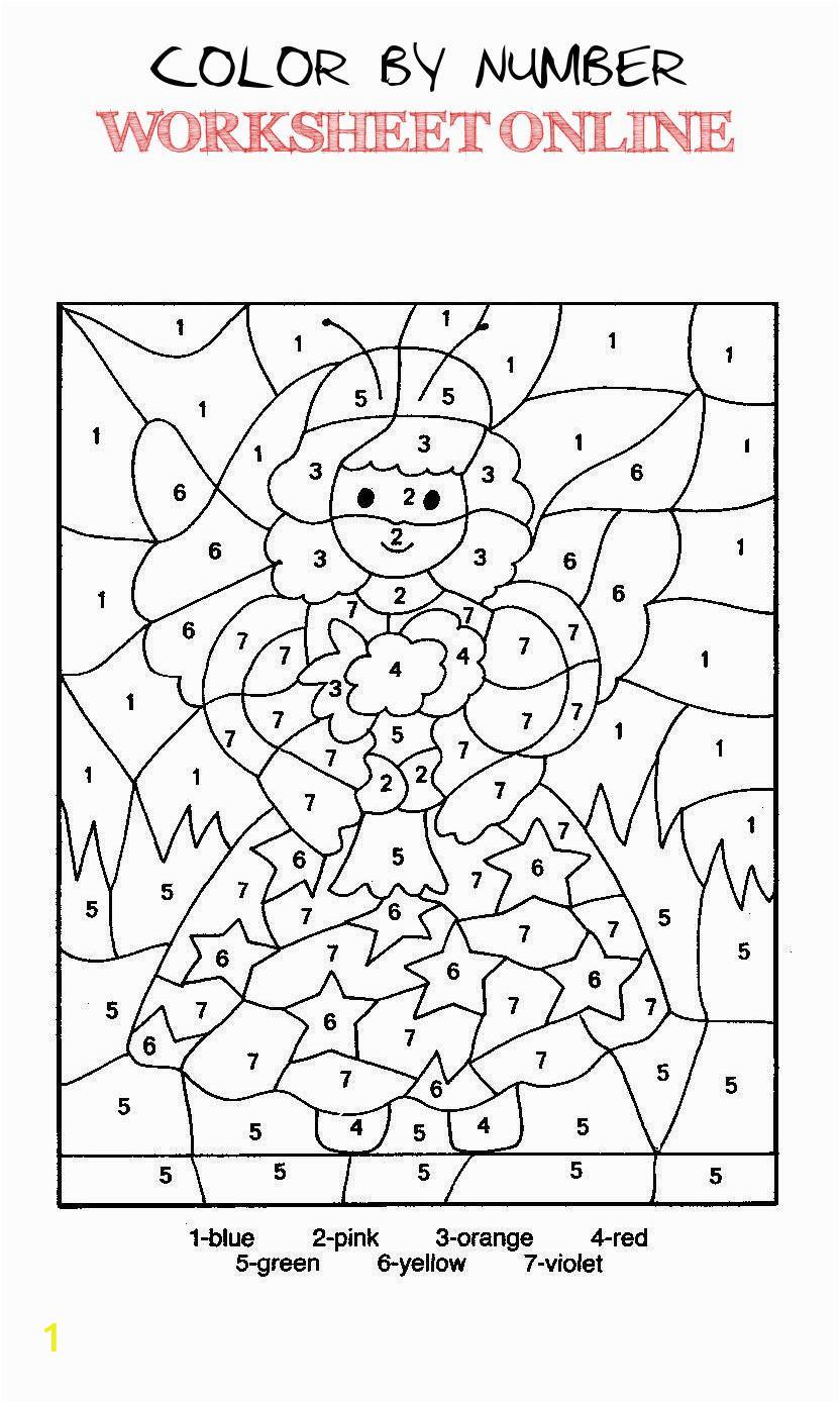 color by number worksheet online top 10 free printable color by number coloring pages line