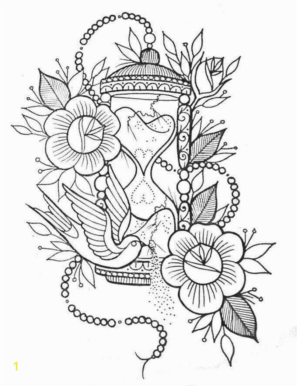 Free Online Coloring Pages for Adults Flowers Get This Adult Coloring Pages Patterns Flowers Free