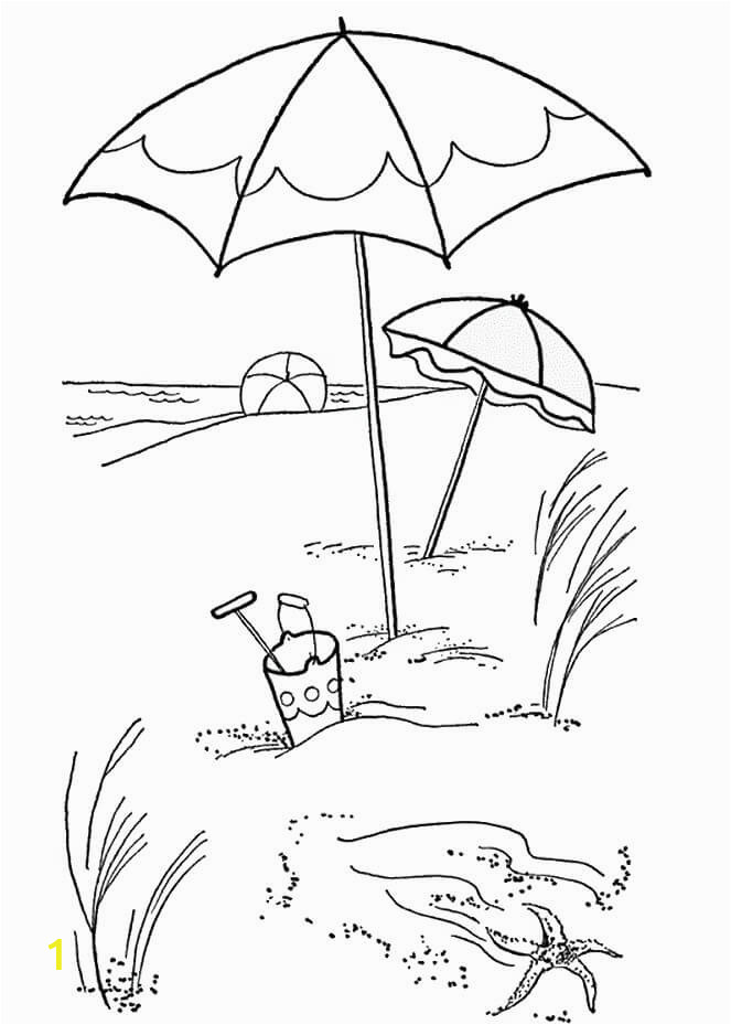 Free Printable Beach Scene Coloring Pages 25 Free Printable Beach Coloring Pages
