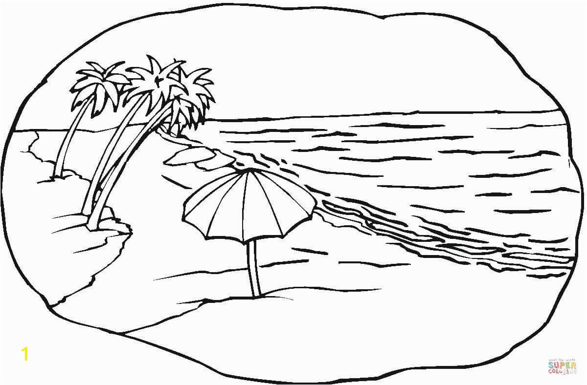 beach scene 0