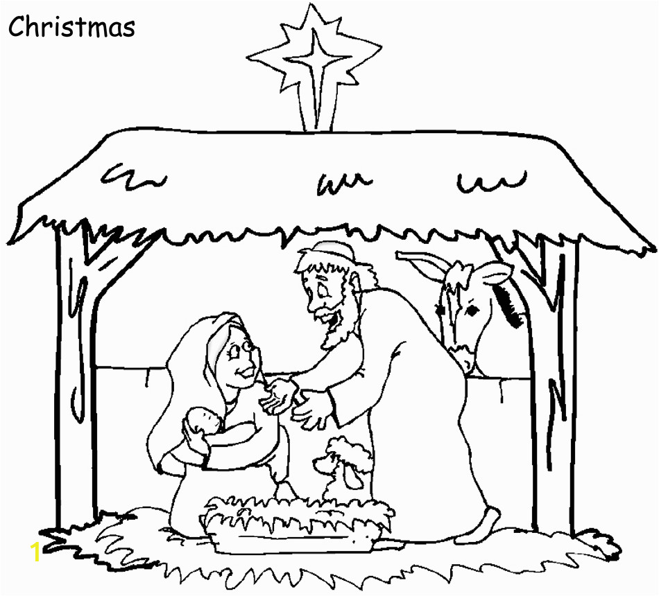 christmas bible coloring pages free