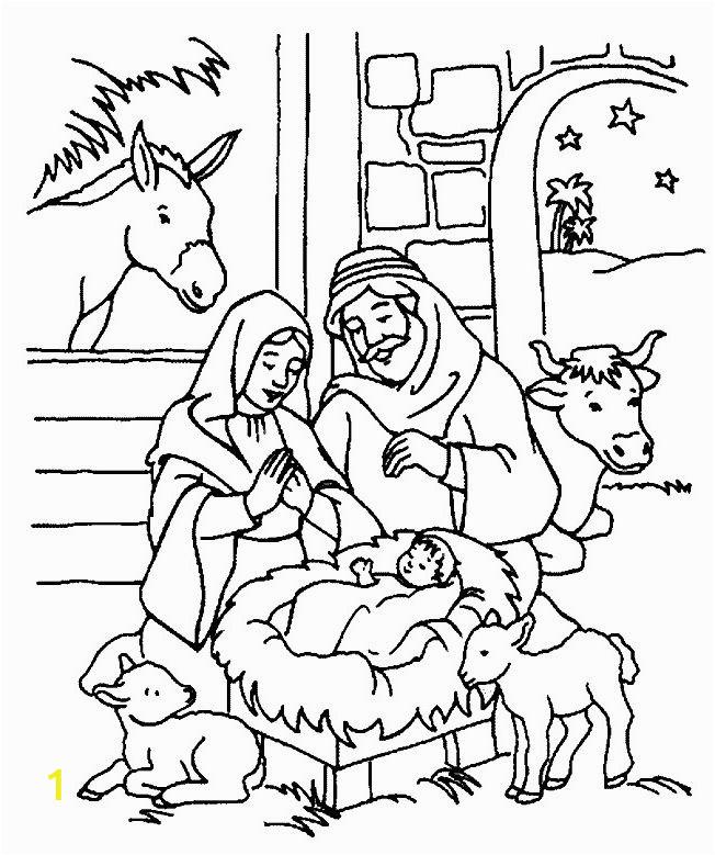 free printable bible christmas coloring
