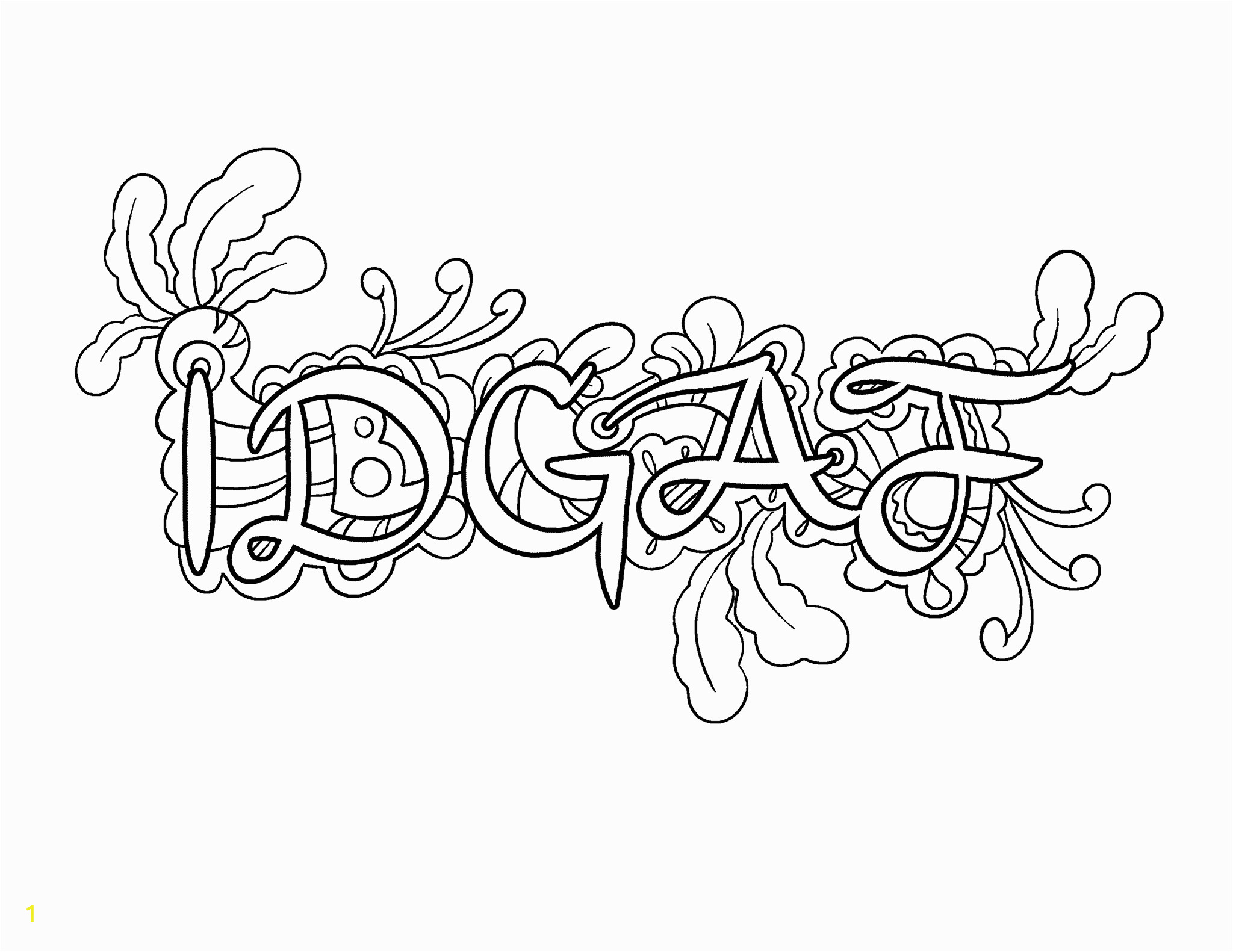 curse word coloring pages printable