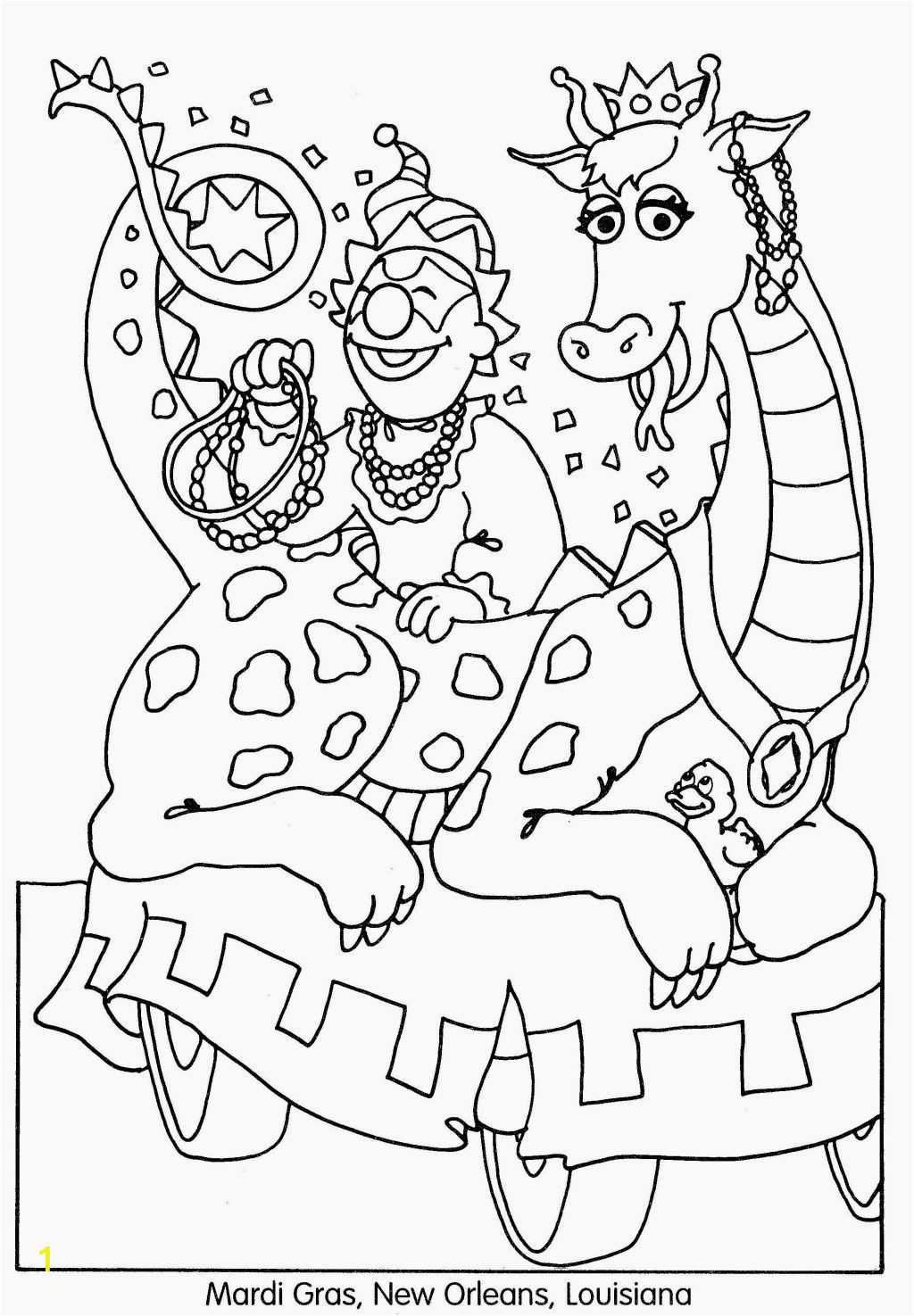 Free Printable Coloring Pages for Mardi Gras Free Printable Mardi Gras Coloring Pages for Kids