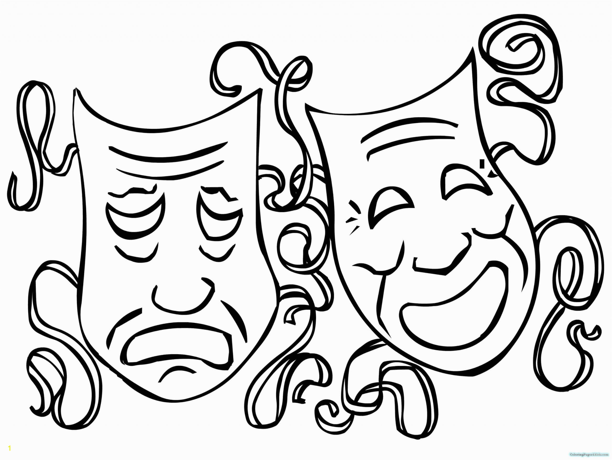mardi gras mask coloring pages 103