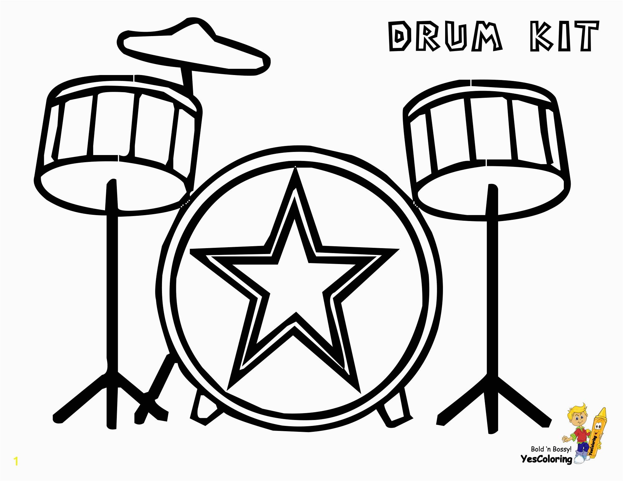 drums printables