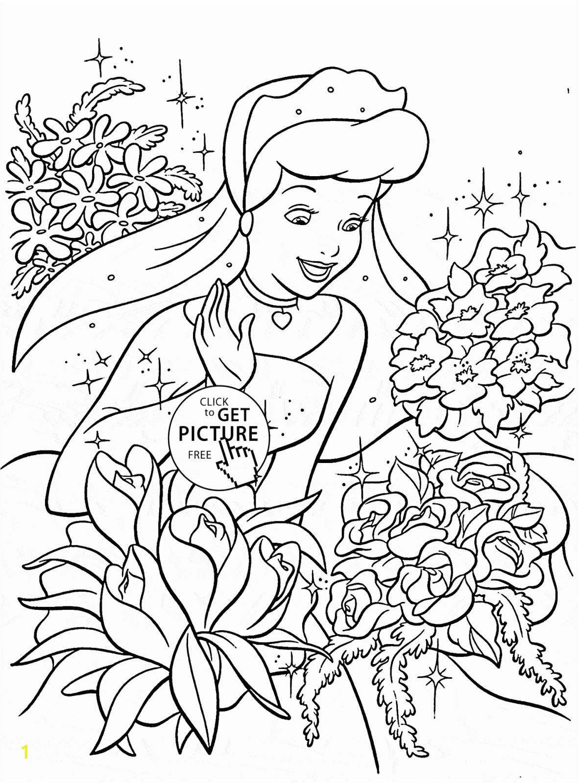 unique disney princess coloring pages