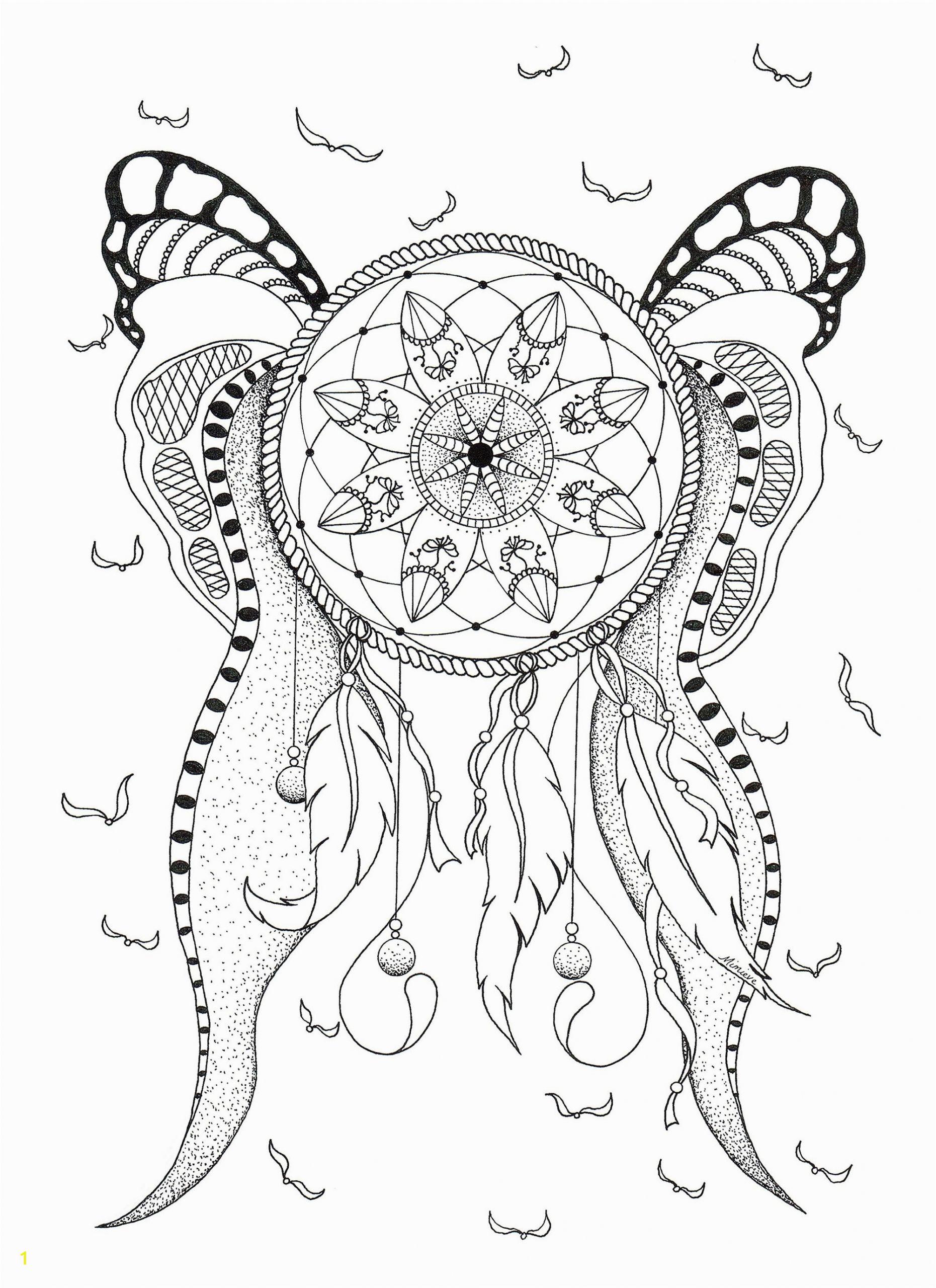 image=dreamcatchers coloring Dreamcatcher Mimieve 1