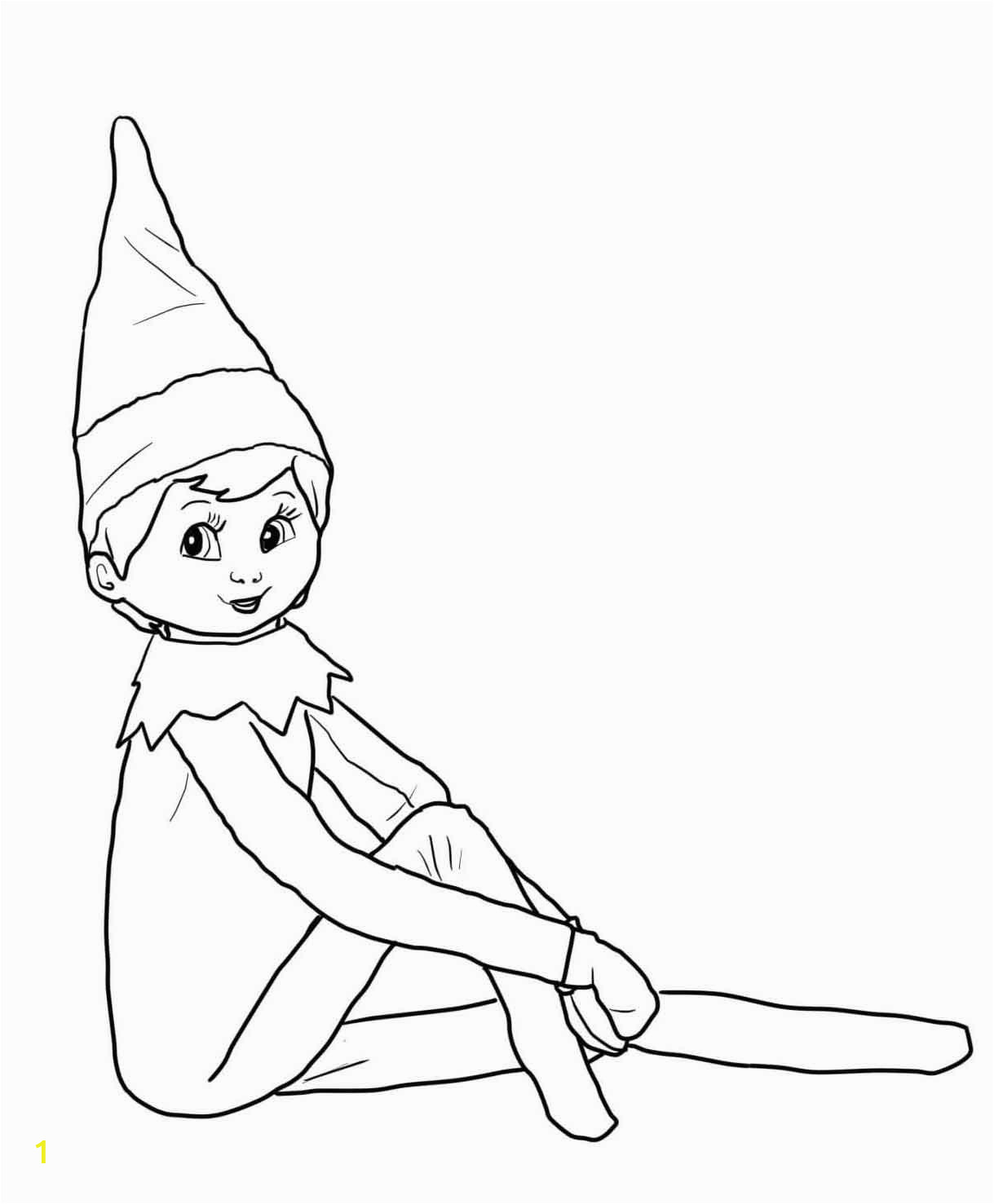 Free Printable Elf On the Shelf Coloring Pages Free Coloring Pages Of Christmas Elf On the Shelf Coloring