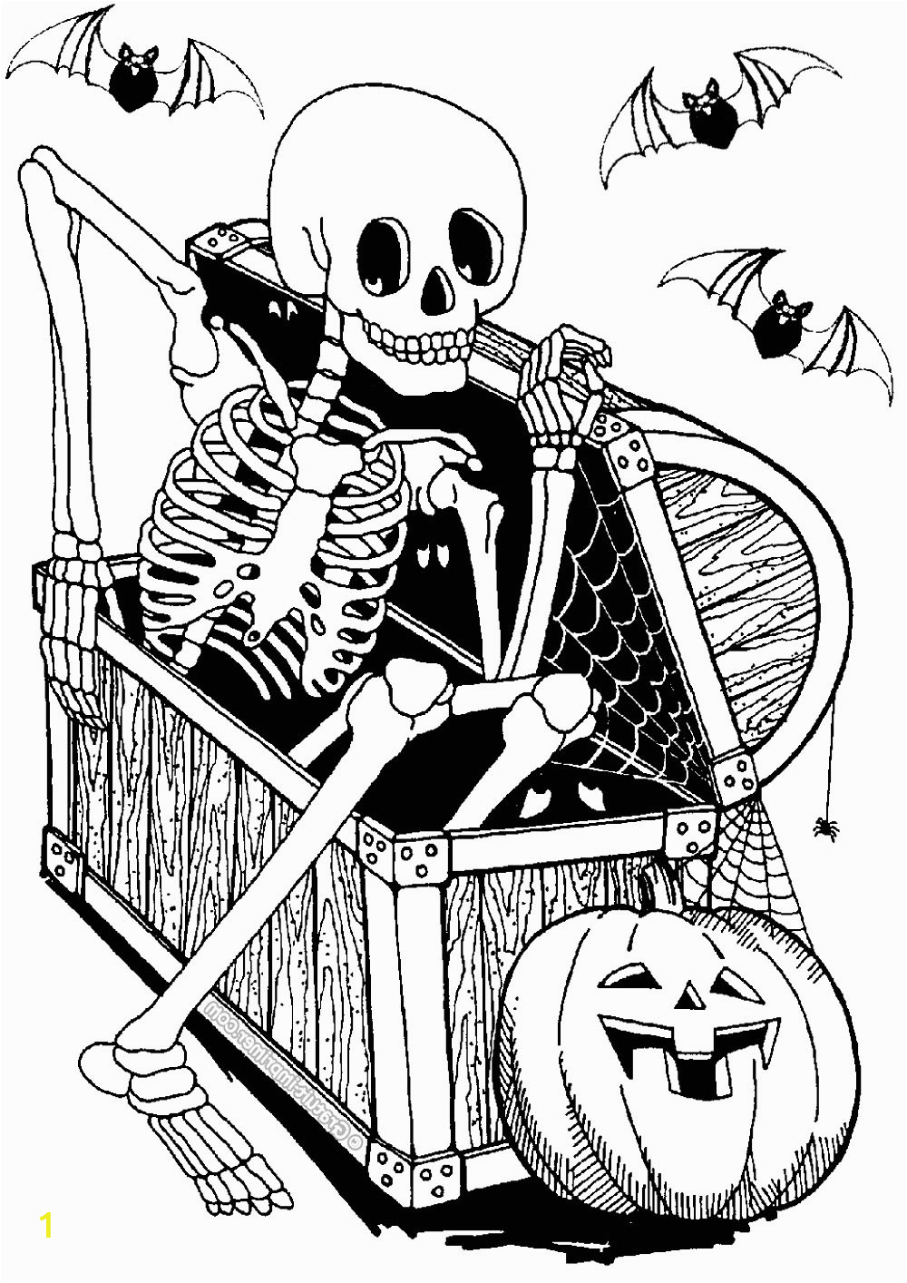 image=events halloween coloring skeleton in chest 1