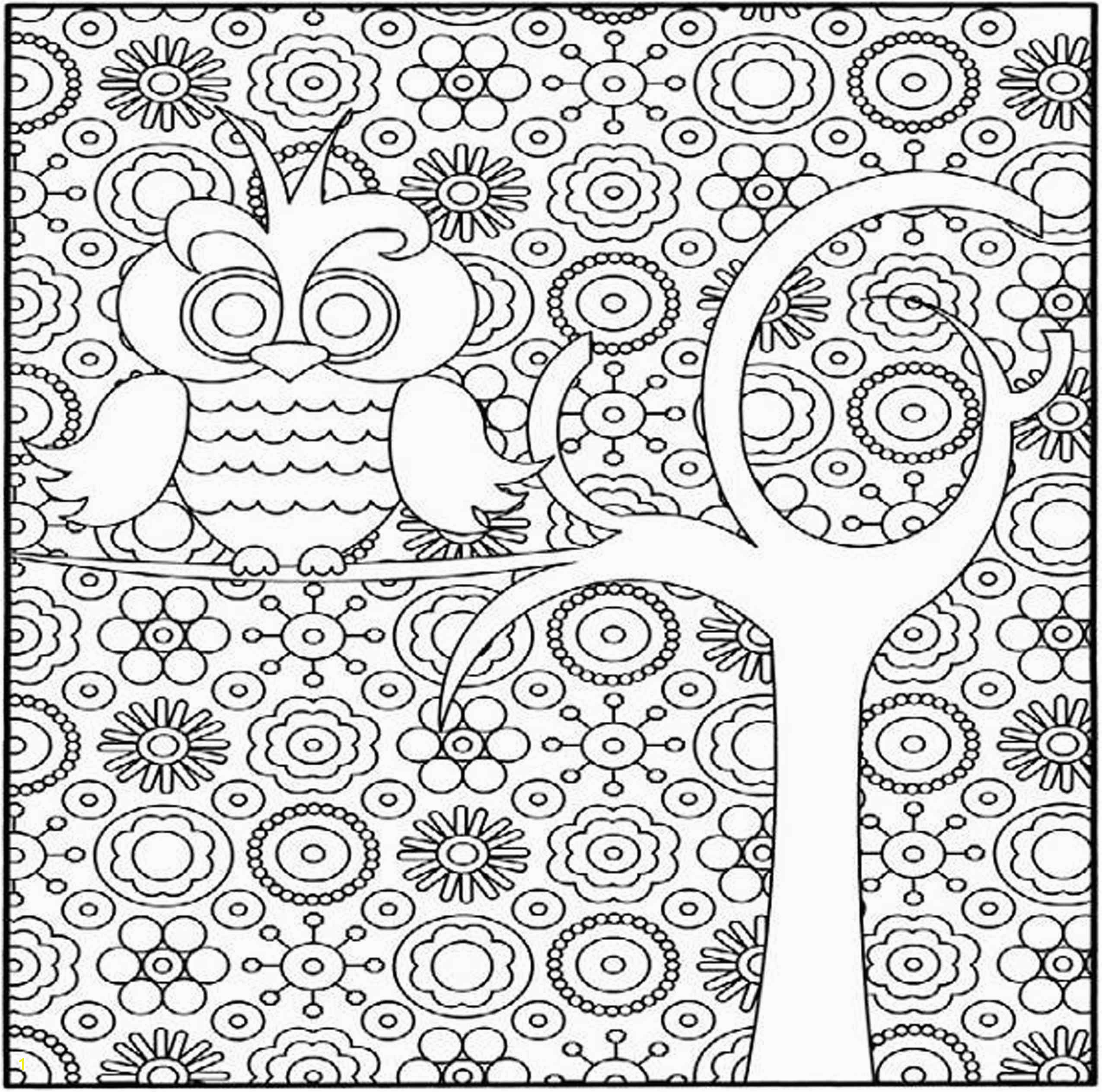really hard detailed coloring pages