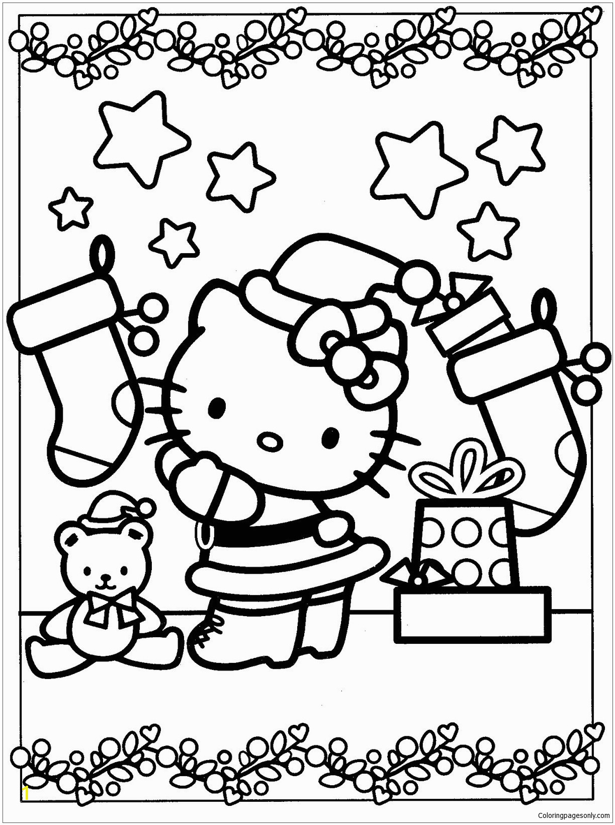 hello kitty decoration christmas