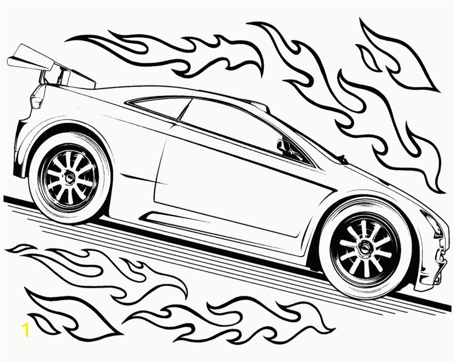 hot rod coloring pages to print