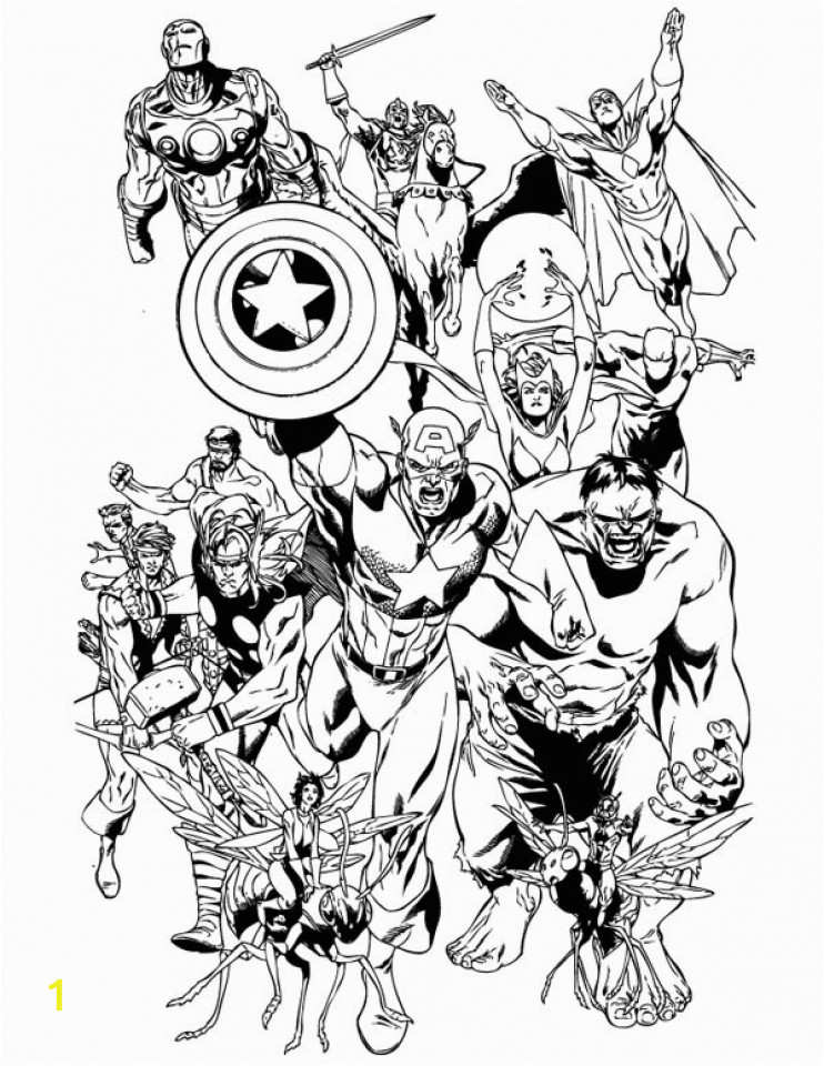 Free Printable Marvel Superhero Coloring Pages Get This Avengers Coloring Pages Marvel Superheroes