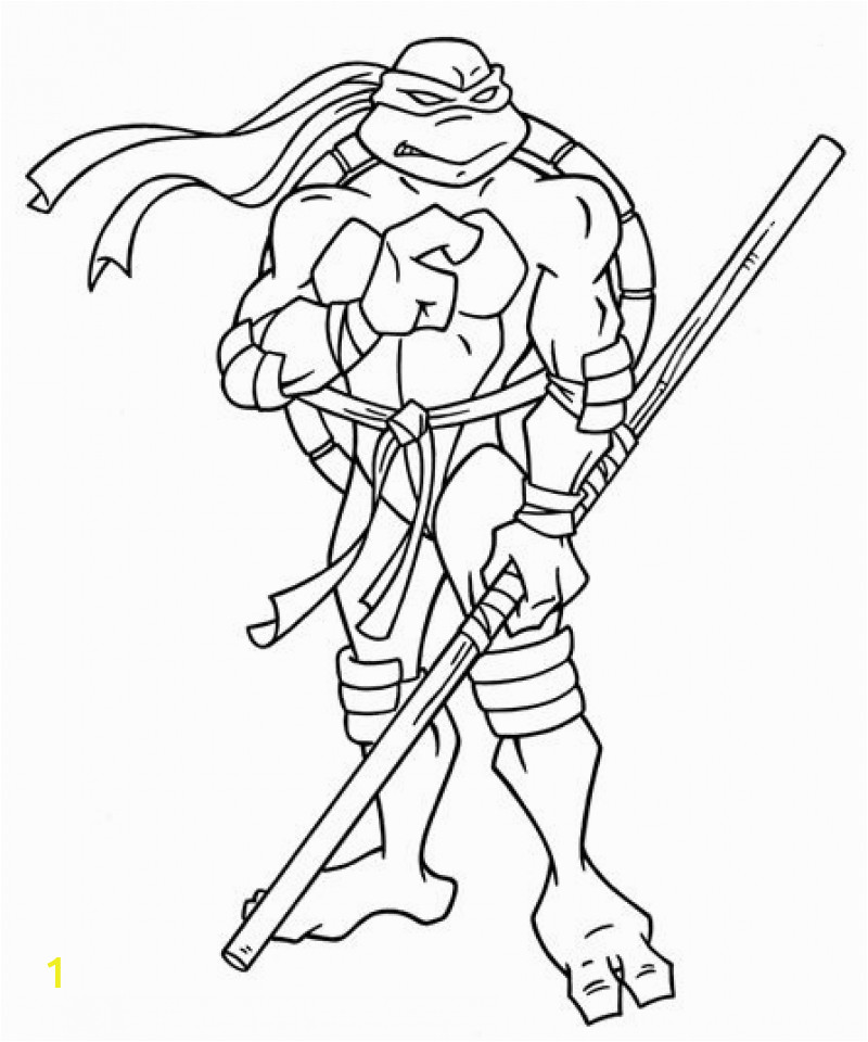 free teenage mutant ninja turtles coloring pages to print