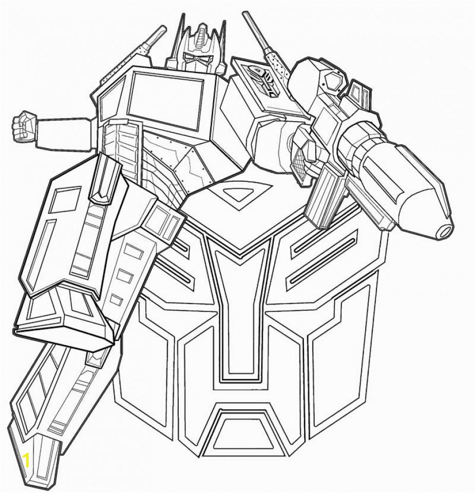 online optimus prime coloring page for kids sz5em