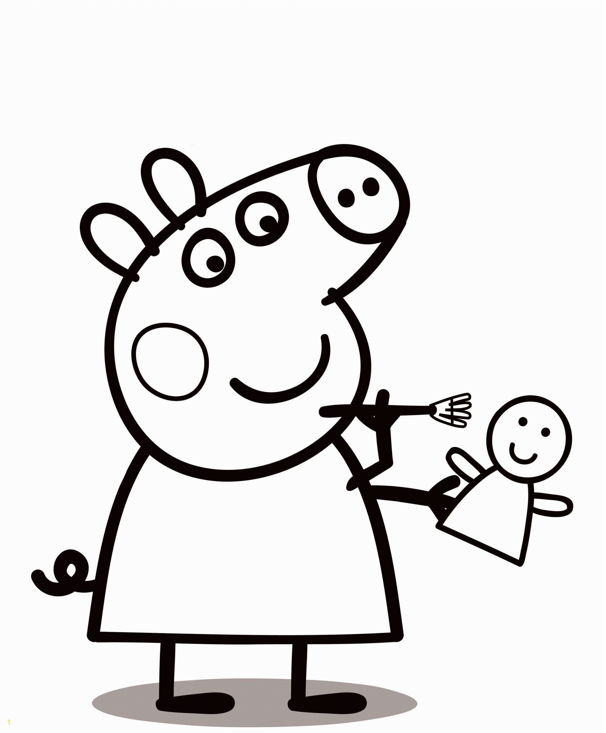 peppa pig coloring pages