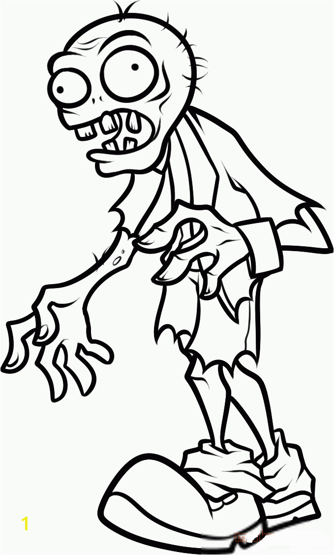 printable plants vs zombies coloring pages