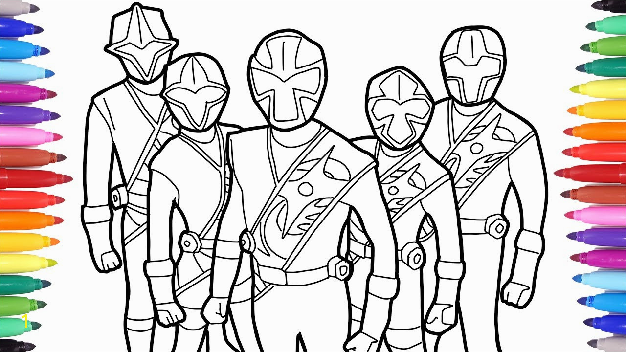 21 brilliant picture of power ranger coloring pages