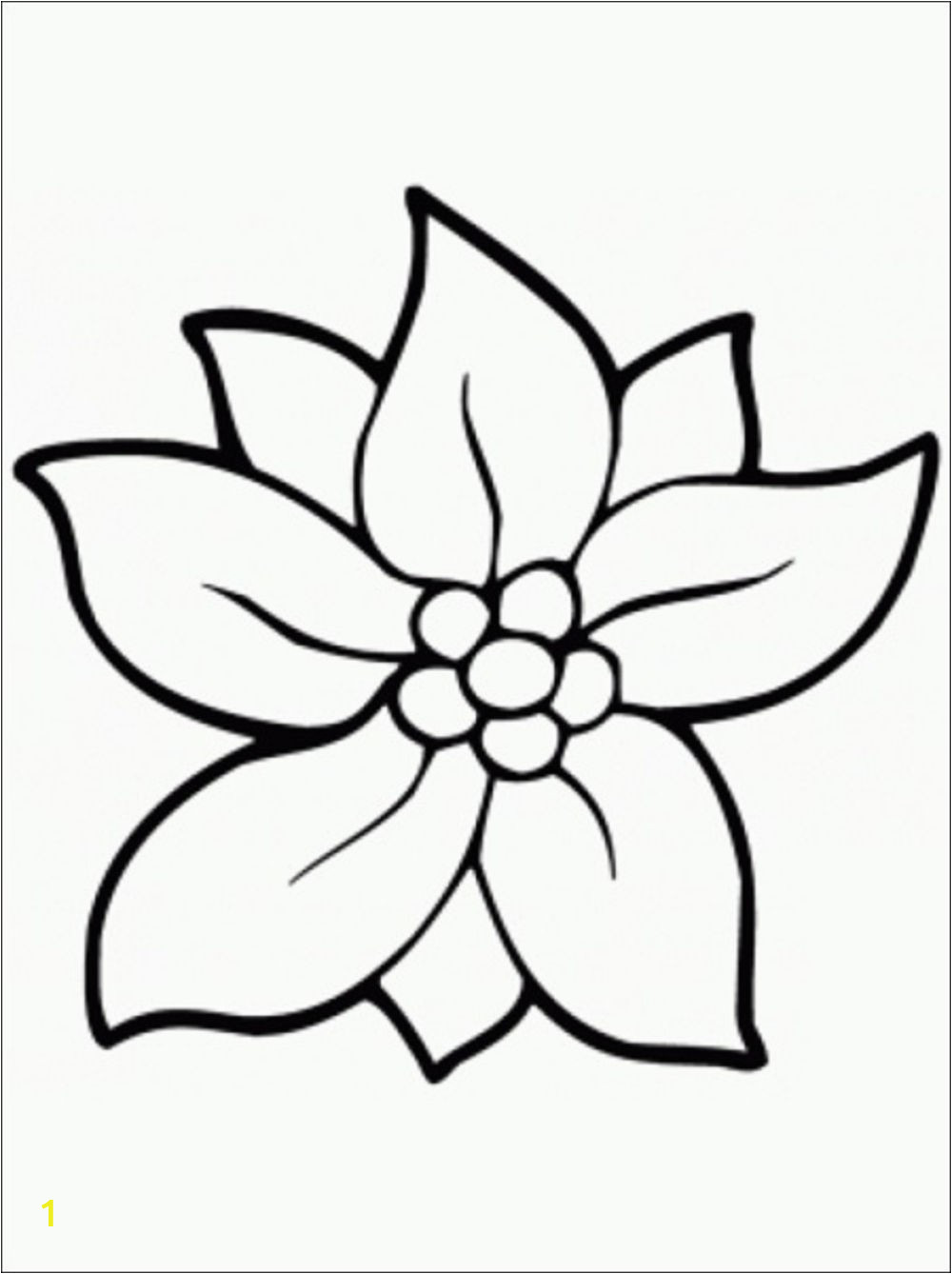 mon variations flower coloring pages