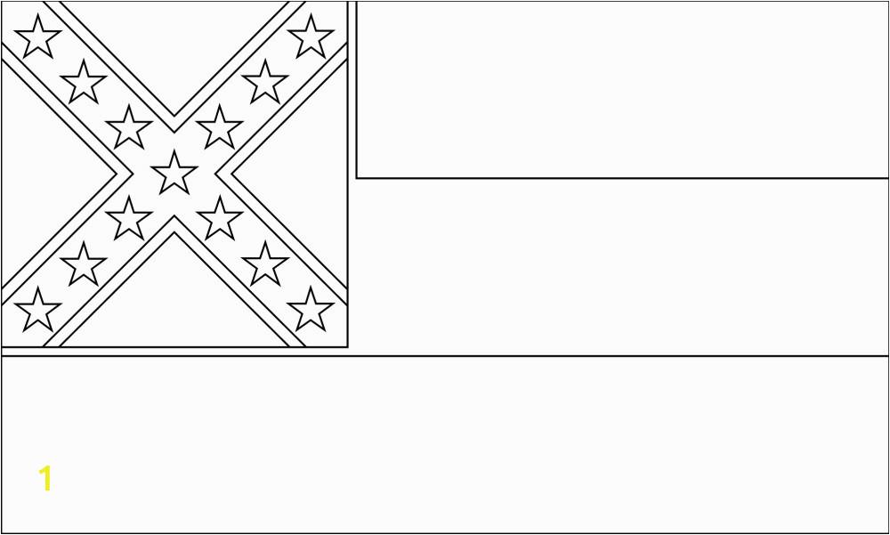 free printable mississippi flag