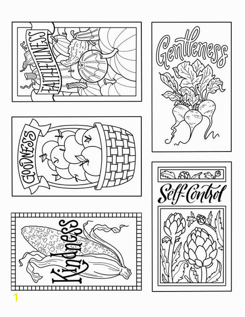 fruit of the spirit seed packet designs
