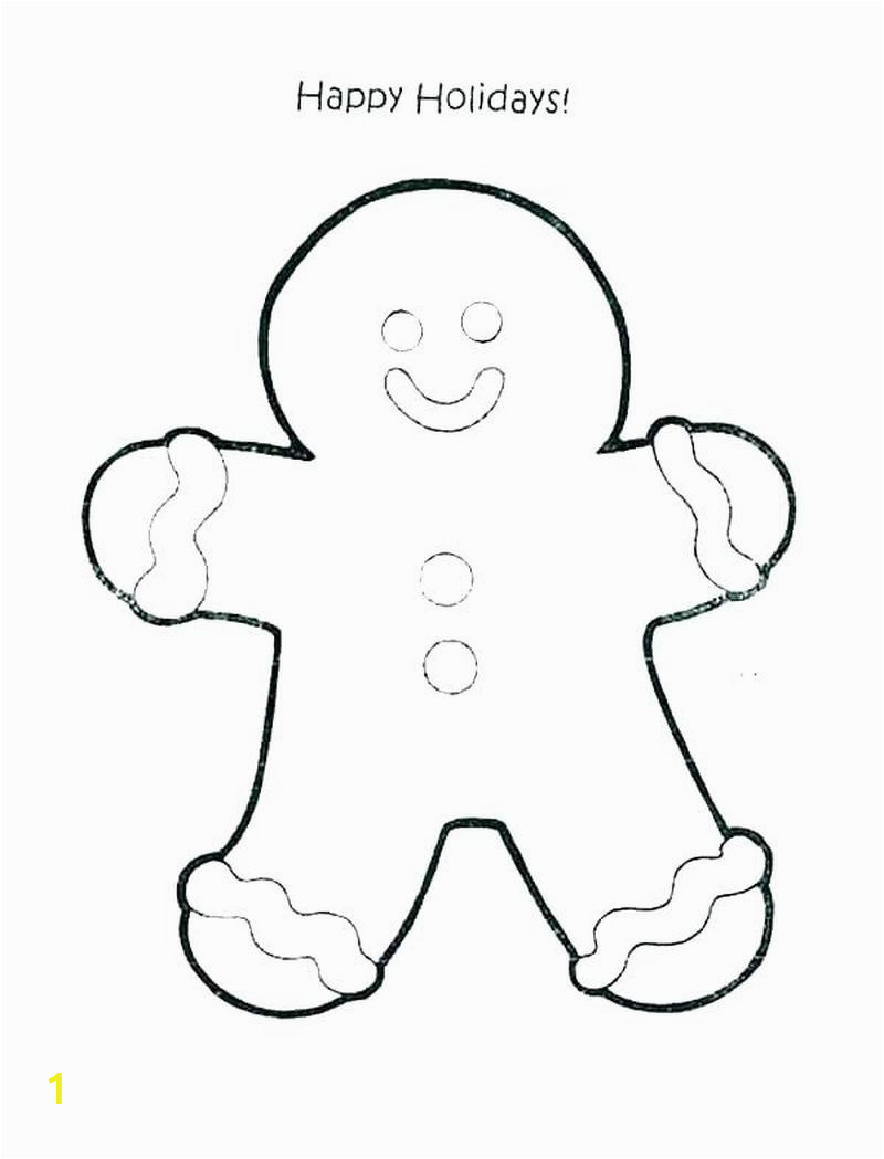 gingerbread man coloring pages ideas