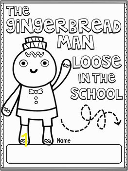 Gingerbread Man Loose in the School by Laura Murray Book Study