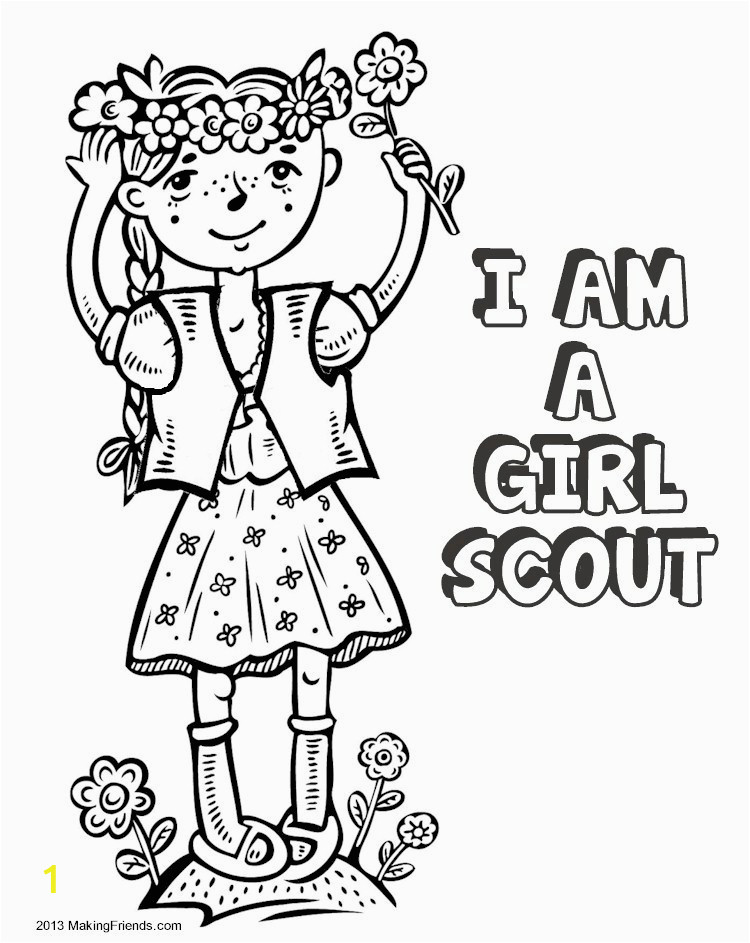 Girl Scout Law Printable Coloring Pages the Law Coloring Book