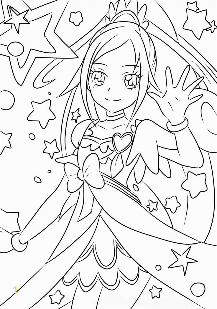 anime glitter force coloring pages sketch templates