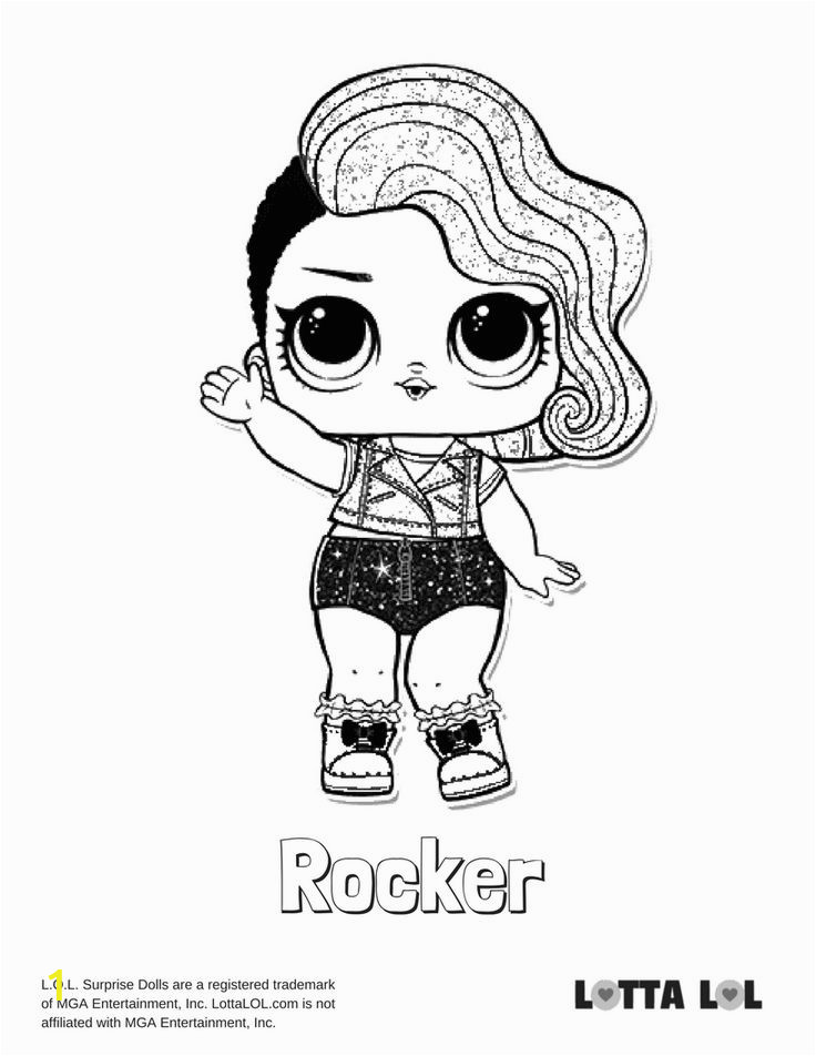 glitter series coloring pages