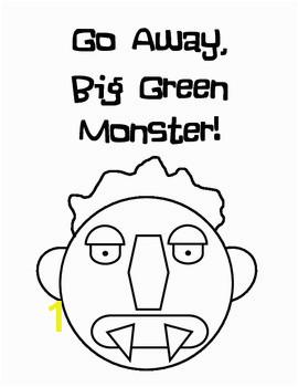 Big Green Monster Ed Emberley Printable