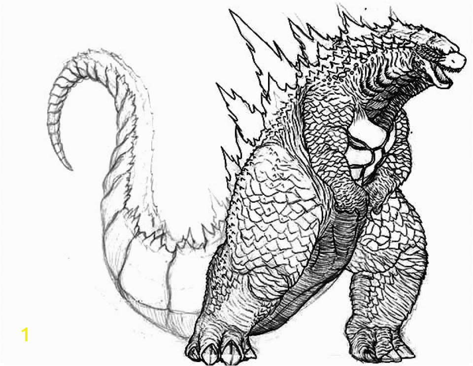 printable image of godzilla coloring pages upiui