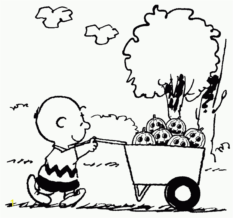 its the great pumpkin charlie brown coloring pages