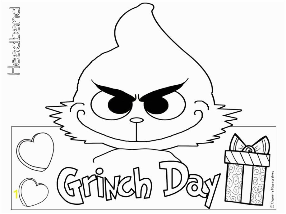 Grinch coloring santa suit