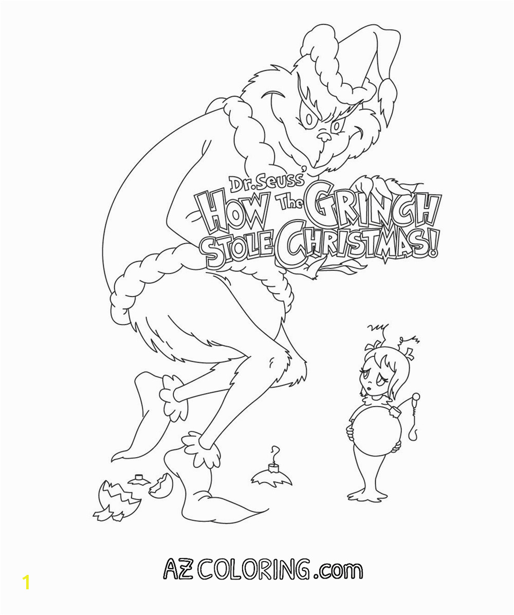 the grinch who stole christmas coloring sheets sketch templates