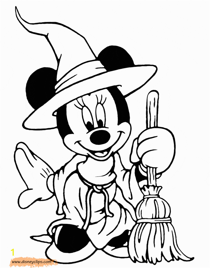 Halloween Disney Coloring Pages to Print Disney Halloween Coloring Pages 4