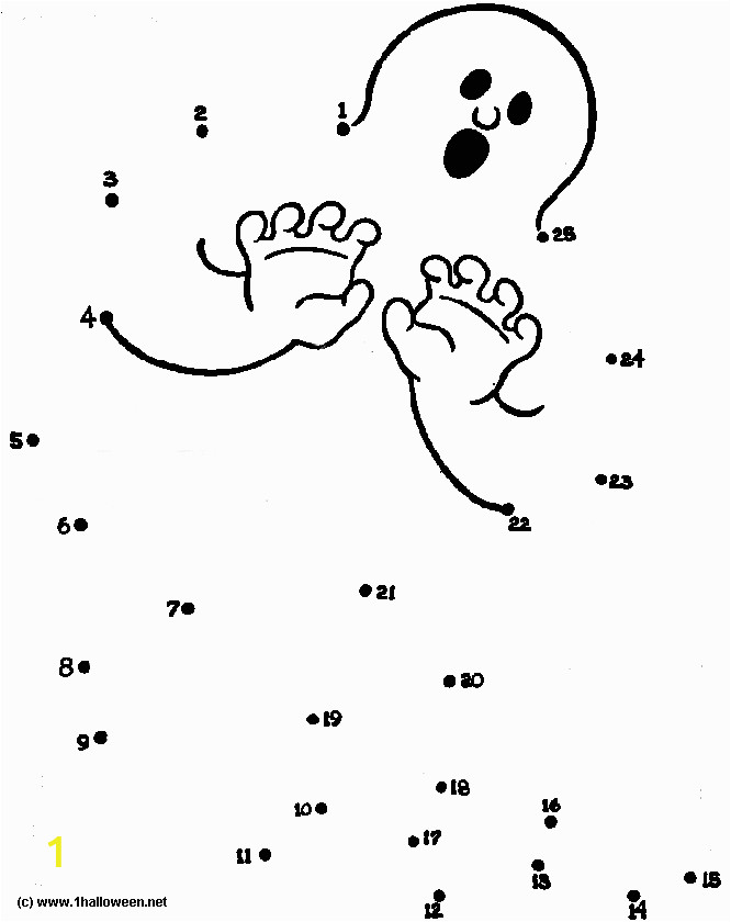connect the dots coloring page