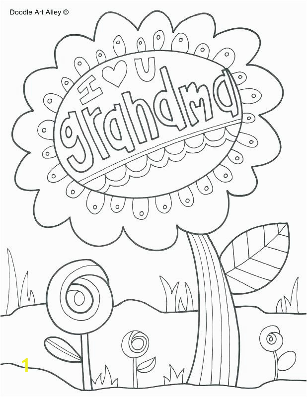 happy birthday nana coloring pages