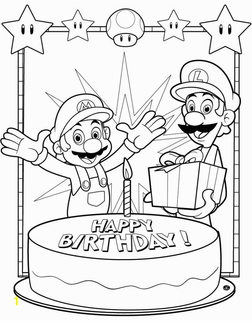 Happy Birthday Coloring Pages for Uncle Coloring Pages Free Printable Birthday Coloring Pages