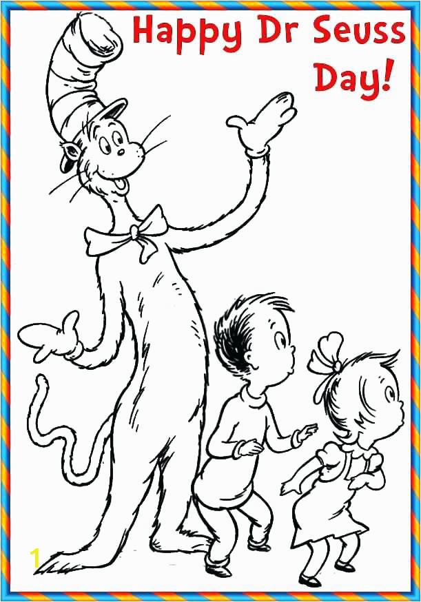 dr seuss coloring pages pdf