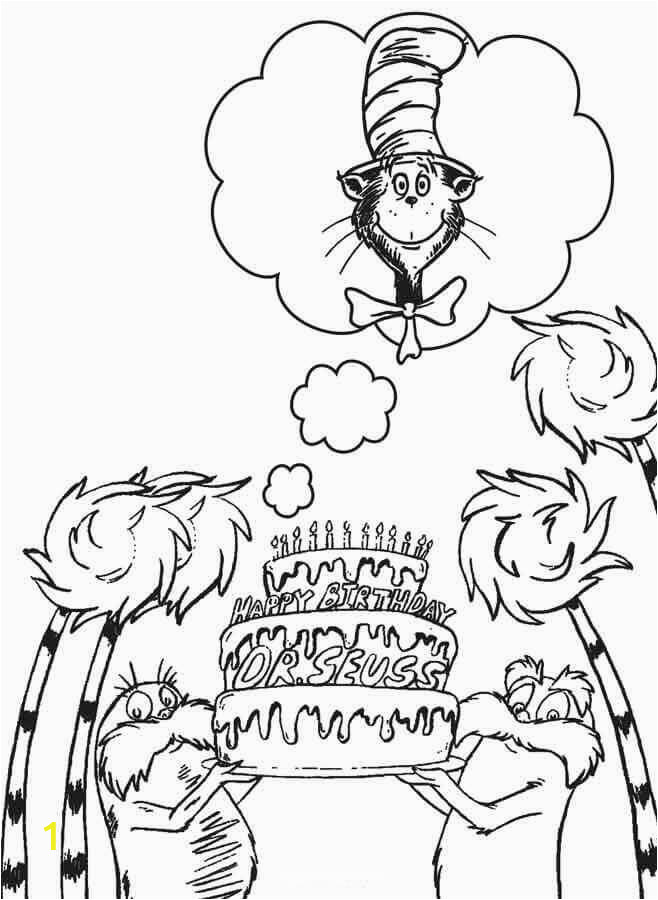 happy birthday dr seuss coloring pages